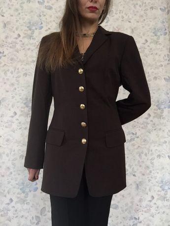 Пиджак жакет блейзер шерсть Escada 40