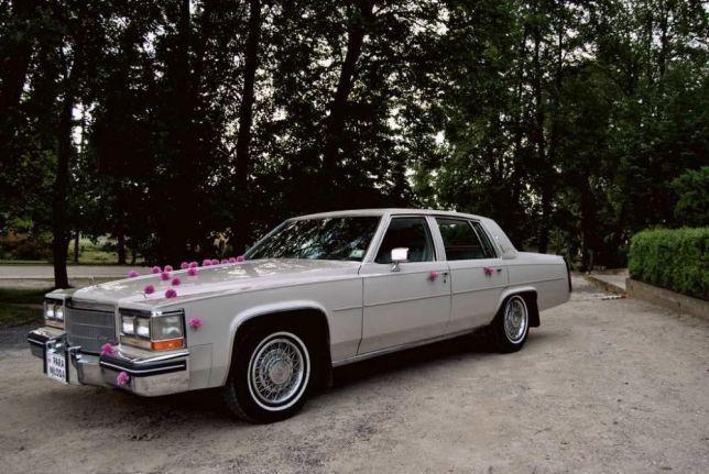 Auto do ślubu - Cadillac Deville