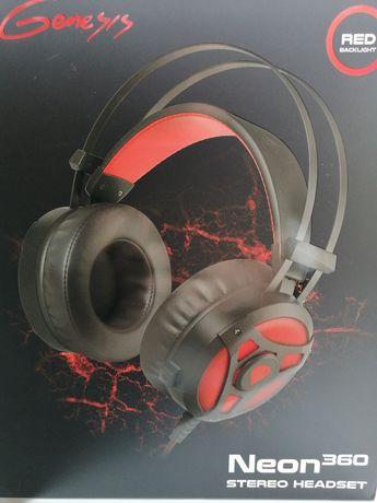 Słuchawki Gamingowe GENESIS NEON 360