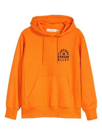 Оранжевый Худи H&M