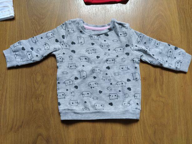 Bluza dla dziewczynki rozm 80