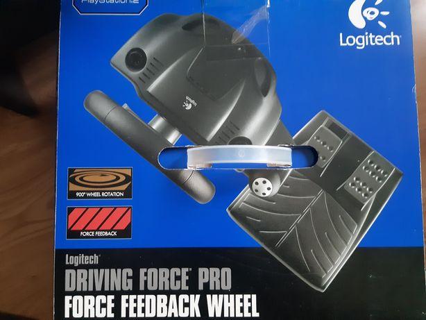 Kierownica do PC/PS2 Logitech Driving Force Pro