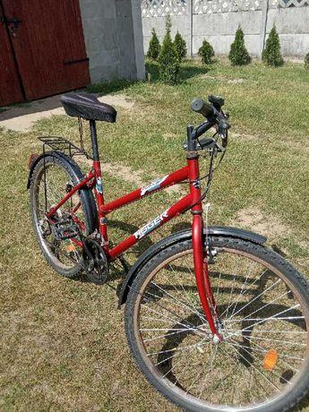 Rower damski czerwony