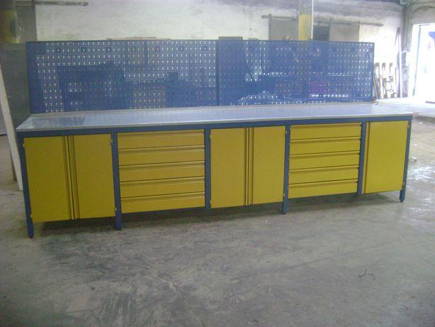 Stół warsztatowy 400cm polski