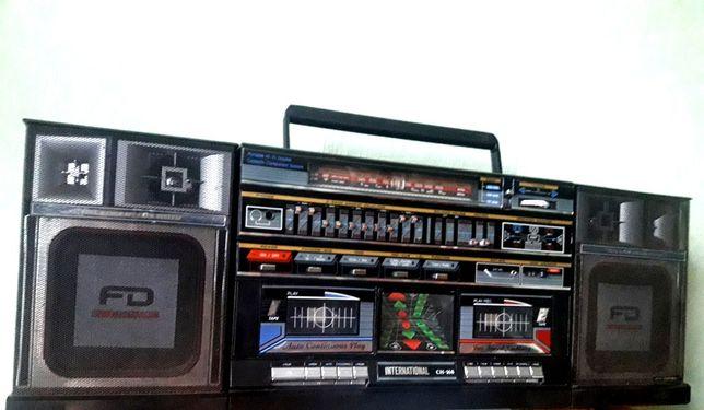 Radiomagnetofon wieża CH-168 Intrnational Radio boombox PRL