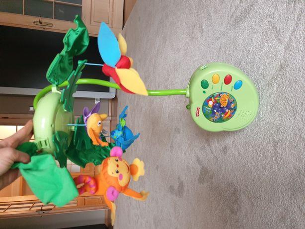 Fisher Price rainforest karuzela uspokajacz zabawka