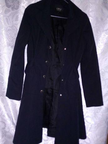 Płaszczyk, płaszcz Simple granatowy rozmiar 34