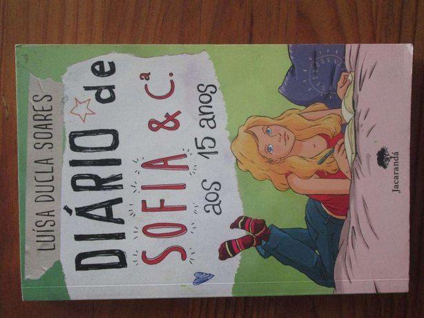 """Livro """"Diário de Sofia e Cª aos 15 anos"""""""