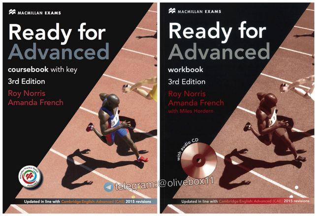 Macmillan Ready for Advanced (3rd Edition). Учебник + Тетрадь + Аудио