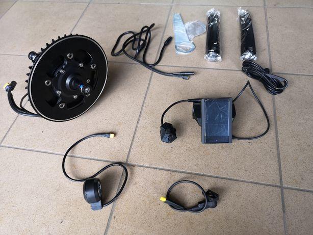 Zestaw do elektryfikacji roweru silnik centralny TSDZ2 z P850C