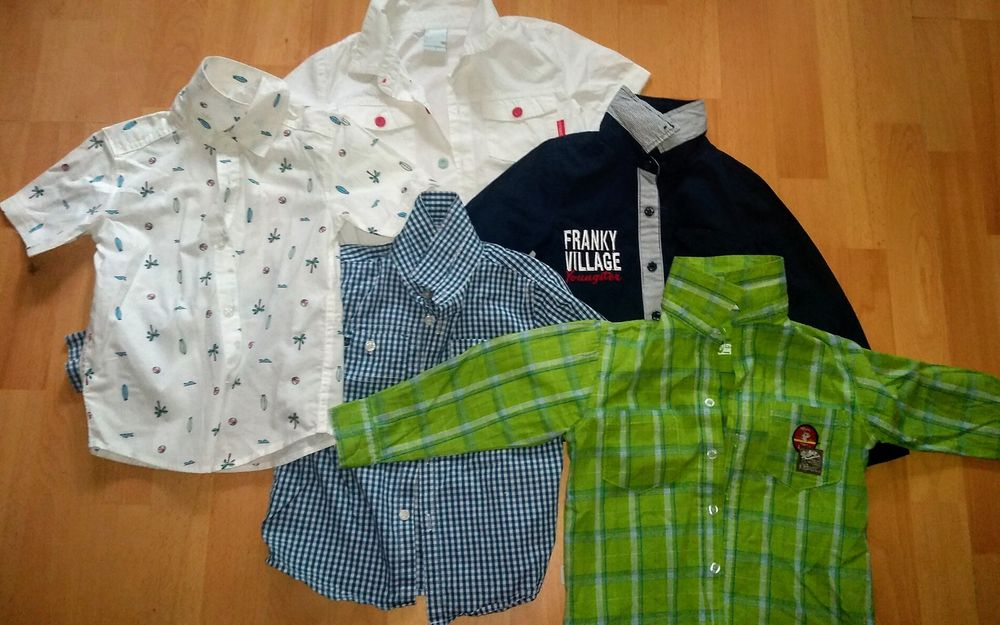 Koszulki chłopięce - zestaw 5 koszulek Legionowo - image 1