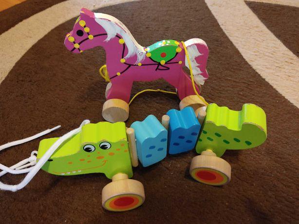 Zabawki dla malucha + klocki