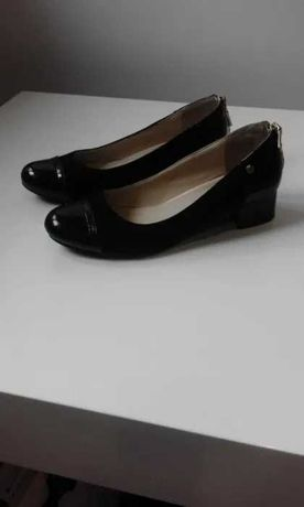 Buty półbuty lakierowane rozm 37