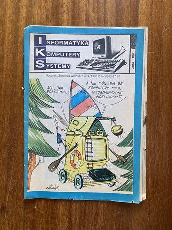 IKS nr 4/1986 Informatyka Komputery Systemy