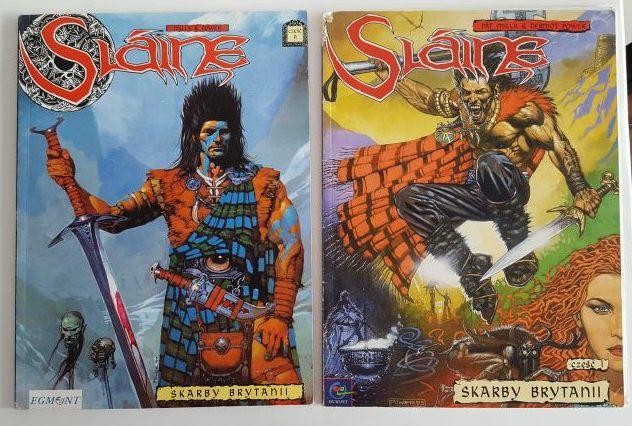 Slaine komiks tom 1 i 2 cena za dwa