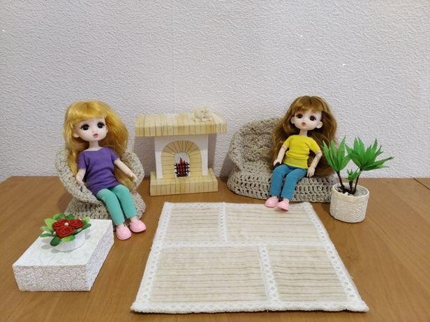 мебель  и  одежда для куклы Баболи баболи Барби.