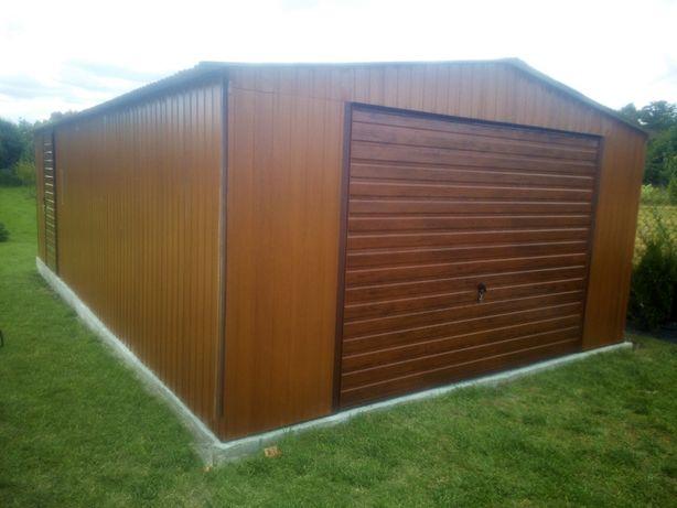 PRODUCENT!!! Garaż blaszak garaże blaszane wiaty schowki bramy kojce