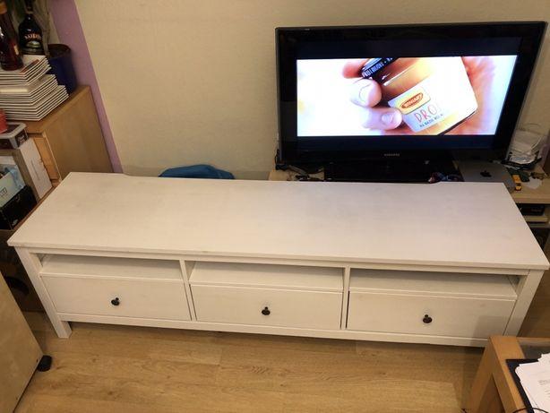 * IKEA HEMMES TV * Fajna DREWNIANIANA szafka pod tv 183 x 47 x 57 cm *