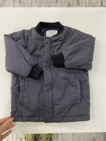 Zara курточка бомбер