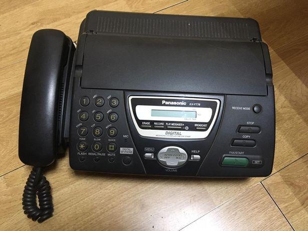 Продаётся телефон-факс Panasonik