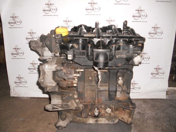 Двигатель на 2,5СDTI.G9U (630 650)Trafic Opel Vivaro, Nissan Primastar