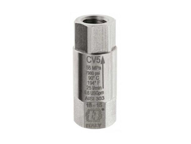 Обратный клапан высокого давления MECLINE CV5 G1/4F