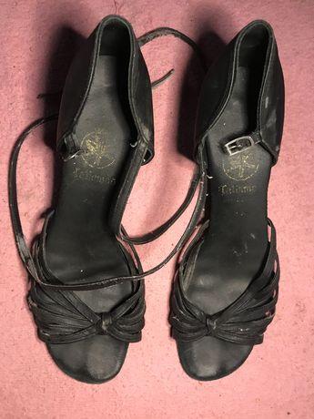 туфли для бальных танцев, чёрные