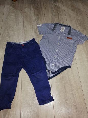 Cool Club Komplet koszula +spodnie