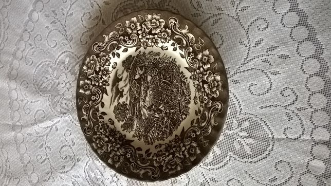 Prato Decorativo Íngles