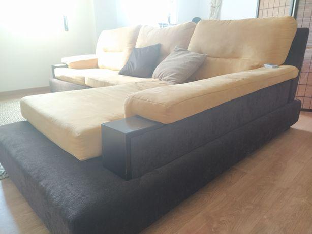 Sofá chaise long 2.00mx1.60m