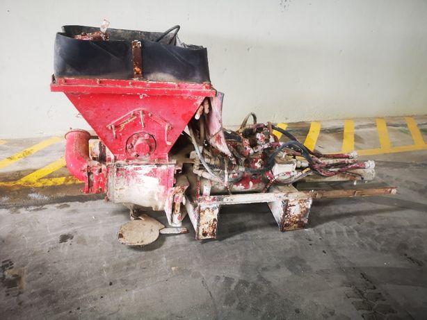 Material Autobombas betão