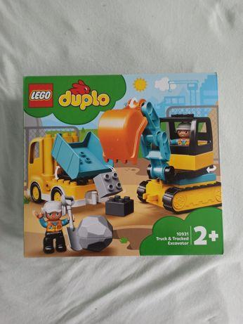 Nowe LEGO DUPLO Ciężarówka i koparka gąsienicowa 10931