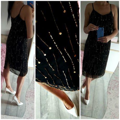 Sukienka koraliki