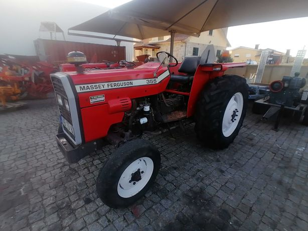 Trator agricola Massey ferguson modelo 355 , usado