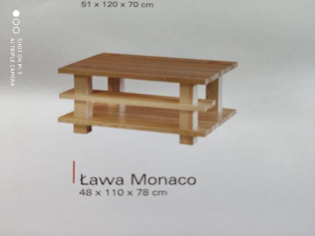 Sprzedam ławę drewnianą Monaco