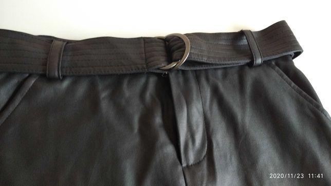 Spódnica skóropodobna Sinsay S idealny