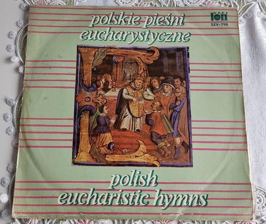 Polskie pieśni eucharystyczne winyl z ok. 1980 r.