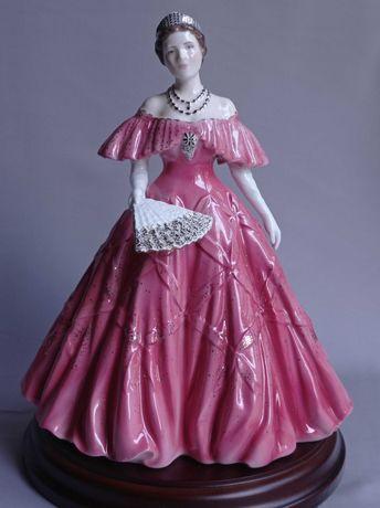 Фарфоровая статуэтка, фарфор, королева Великобритании