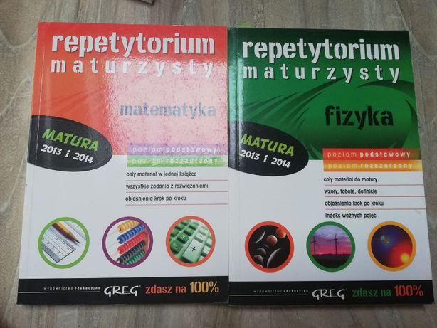 Repetytorium maturzysty, Greg, Matematyka, Fizyka