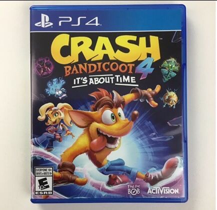 Crash Bandicoot : It's About Time PS4 PlayStation 4 Gra Odbiór/Wysyłka
