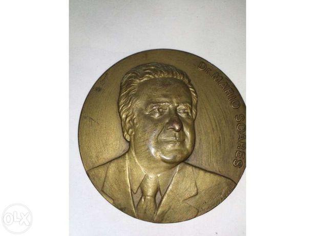 Medalha Dr. Mário Soares - numerada