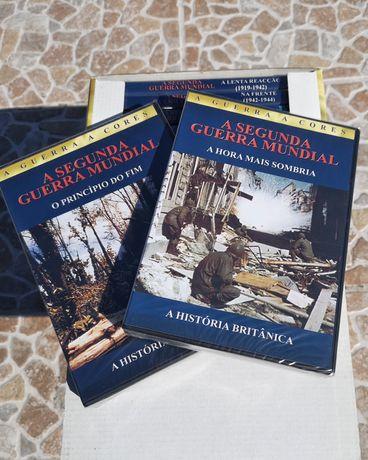 Segunda guerra mundial - Colecção nova completa em DVD
