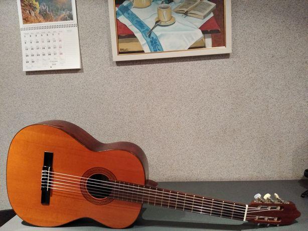 Hiszpańska gitara klasyczna Prudencio Saez   Potężne brzmienie !!