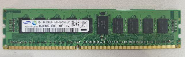 Серверная память Samsung ddr3 ecc reg 4gb 1333Mhz 10600R M393B5273CH0