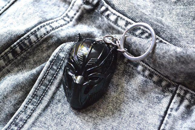Металлический брелок Черная Пантера (Marvel Марвел)
