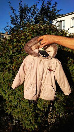 Zimowa kurtka Quadri Foglio 3 w 1 (+ kamizelka) rozm 92