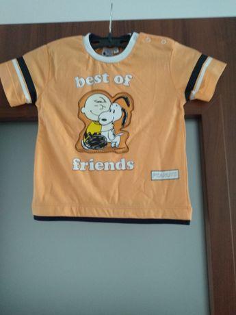 Nowa bawelniana koszulka