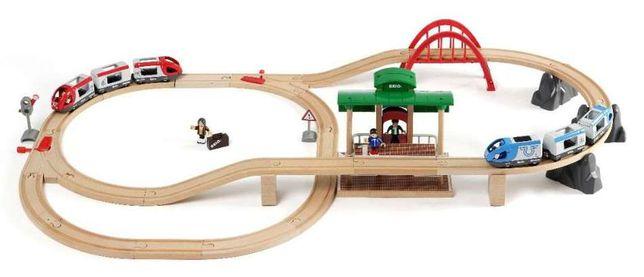 """Brio (Брио) 33512 деревянная железная дорога """"Большое путешествие"""""""