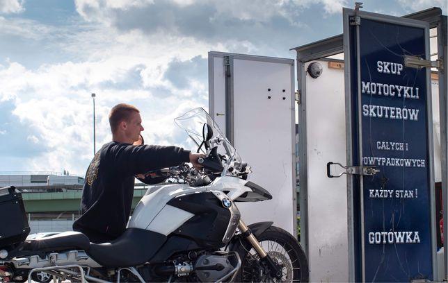 Skup Motocykli Całych  powypadkowych za GOTÓWKĘ KażdySTAN