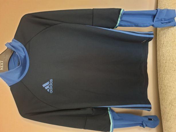 Bluza bluzka koszulka treningowa trening adidas plecy przewiewne